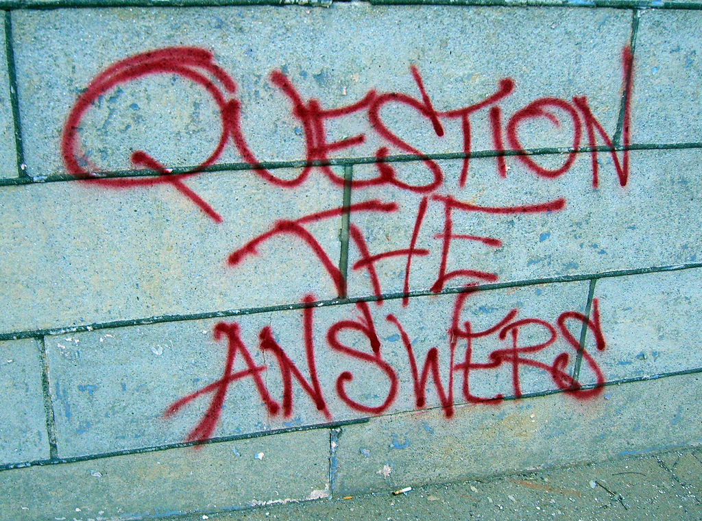 Five Minutes – What's the Question? Wednesday